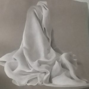 Charcoal Drawing Cloth