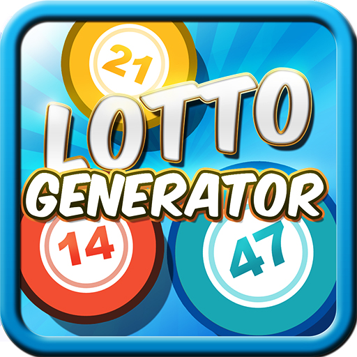 Lottery Number Generator App Icon Android