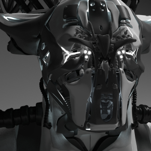 STOCKIO_3DModel_Robot_Head