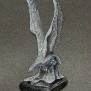 Sculpture Charcoal Drawing